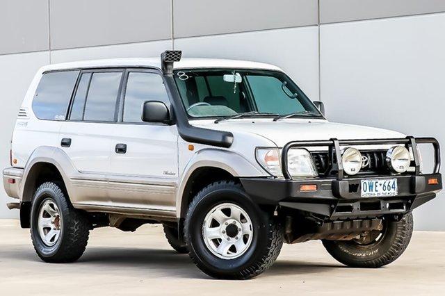 Discounted Used Toyota Landcruiser Prado GXL, Pakenham, 1998 Toyota Landcruiser Prado GXL Wagon