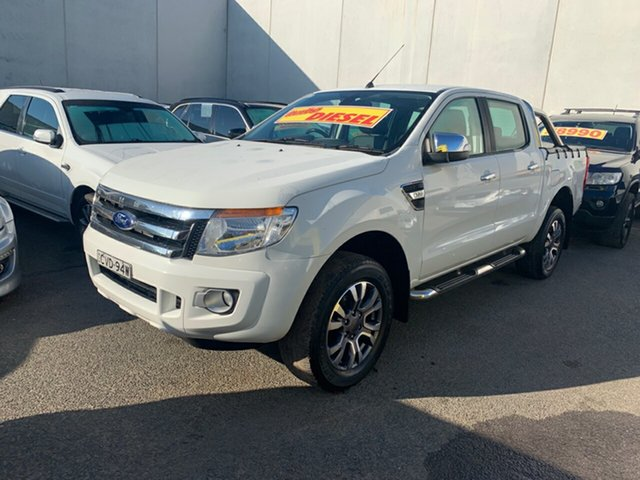 Used Ford Ranger XLT Double Cab, Cranbourne, 2014 Ford Ranger XLT Double Cab Utility