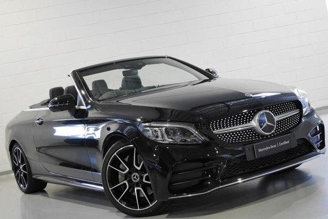 Used Mercedes-Benz C-Class C300 9G-Tronic, Chatswood, 2018 Mercedes-Benz C-Class C300 9G-Tronic Cabriolet