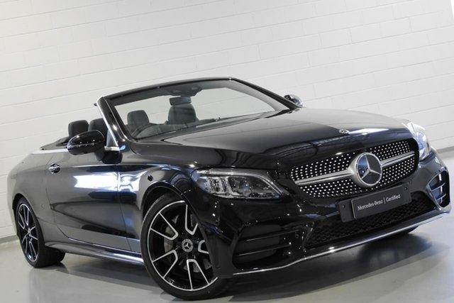 Used Mercedes-Benz C300 9G-Tronic, Warwick Farm, 2018 Mercedes-Benz C300 9G-Tronic Cabriolet