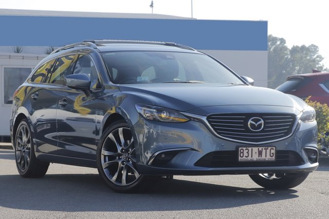Used Mazda 6 GT SKYACTIV-Drive, Bowen Hills, 2016 Mazda 6 GT SKYACTIV-Drive Wagon