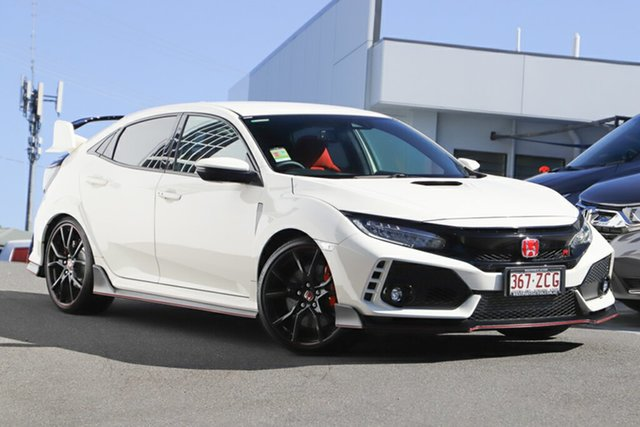 Demonstrator, Demo, Near New Honda Civic Type R, Indooroopilly, 2018 Honda Civic Type R Hatchback