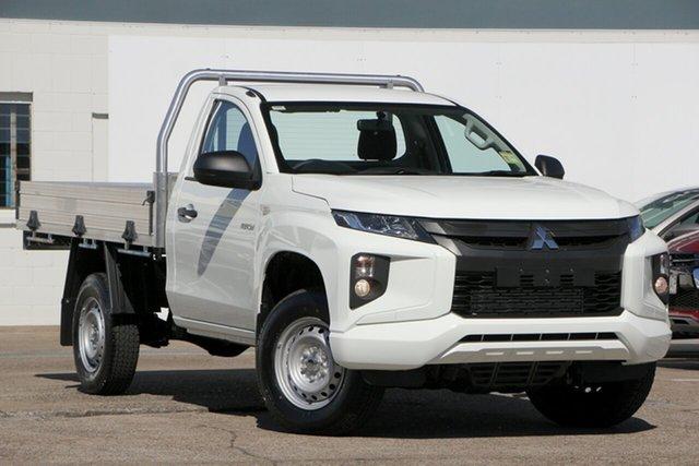 Demonstrator, Demo, Near New Mitsubishi Triton GLX, Bowen Hills, 2018 Mitsubishi Triton GLX Cab Chassis
