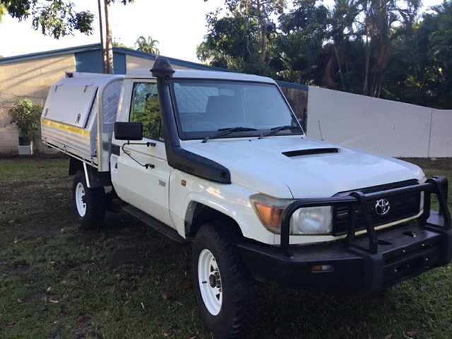 Discounted Used Toyota Landcruiser Workmate (4x4), Parap, 2012 Toyota Landcruiser Workmate (4x4) Cab Chassis