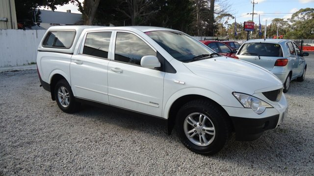 Used Ssangyong Actyon Sports Sports, Seaford, 2008 Ssangyong Actyon Sports Sports Utility