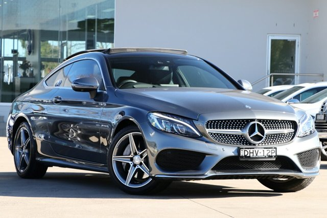 Used Mercedes-Benz C200 7G-Tronic +, Waitara, 2016 Mercedes-Benz C200 7G-Tronic + Coupe