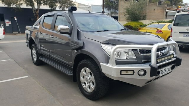 Used Holden Colorado LTZ Thunder (4x4), Melrose Park, 2013 Holden Colorado LTZ Thunder (4x4) Crew Cab Pickup