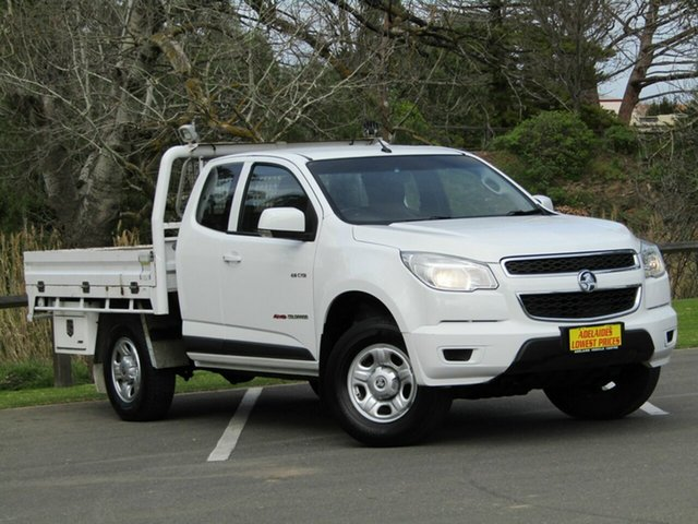 Used Holden Colorado LX Space Cab, Enfield, 2014 Holden Colorado LX Space Cab Cab Chassis