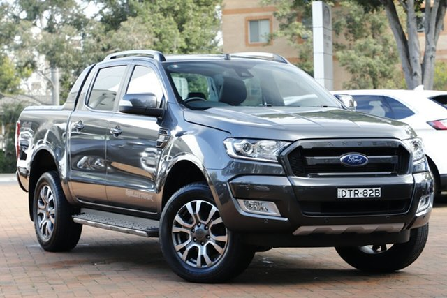 Used Ford Ranger Wildtrak Double Cab, Warwick Farm, 2017 Ford Ranger Wildtrak Double Cab Utility