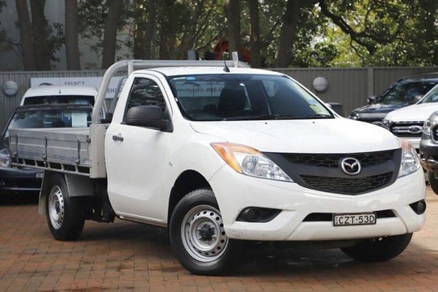 Used Mazda BT-50 XT 4x2, Artarmon, 2015 Mazda BT-50 XT 4x2 Cab Chassis