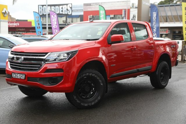 Demonstrator, Demo, Near New Holden Colorado 4X4 LS, Brookvale, 2018 Holden Colorado 4X4 LS Dual Cab