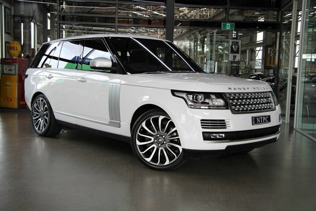 Used Land Rover Range Rover SDV8 Vogue SE, North Melbourne, 2016 Land Rover Range Rover SDV8 Vogue SE Wagon
