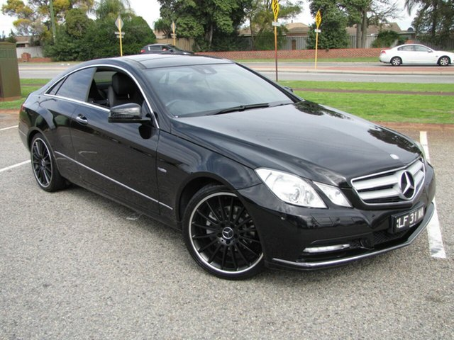 Used Mercedes-Benz E250 CGI Avantgarde, Maddington, 2011 Mercedes-Benz E250 CGI Avantgarde Coupe