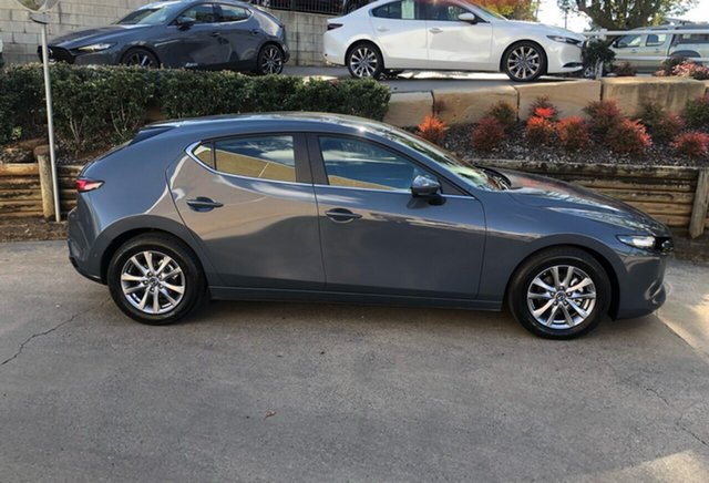 Demonstrator, Demo, Near New Mazda 3 G20 SKYACTIV-MT Pure, Toowoomba, 2019 Mazda 3 G20 SKYACTIV-MT Pure Hatchback