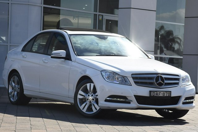 Discounted Used Mercedes-Benz C200 7G-Tronic +, Warwick Farm, 2014 Mercedes-Benz C200 7G-Tronic + Sedan