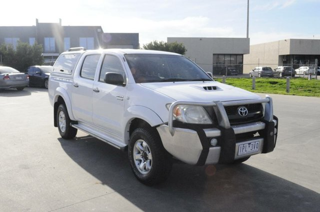Used Toyota Hilux SR (4x4), Hoppers Crossing, 2008 Toyota Hilux SR (4x4) Dual Cab Chassis