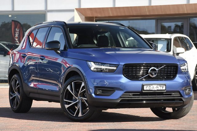 Discounted Demonstrator, Demo, Near New Volvo XC40 T5 AWD R-Design, Warwick Farm, 2019 Volvo XC40 T5 AWD R-Design SUV