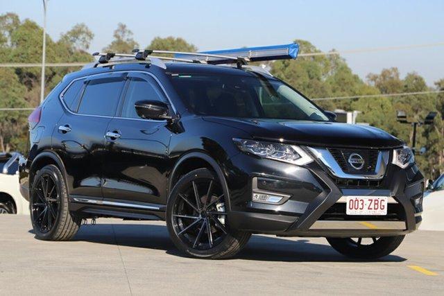 Demonstrator, Demo, Near New Nissan X-Trail Ti X-tronic 4WD, Indooroopilly, 2019 Nissan X-Trail Ti X-tronic 4WD Wagon