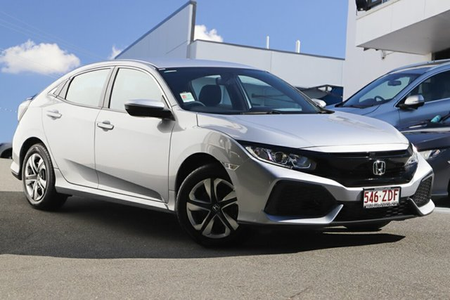 Demonstrator, Demo, Near New Honda Civic VTi, Indooroopilly, 2018 Honda Civic VTi Hatchback