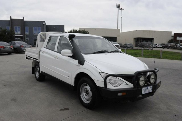 Used Ssangyong Actyon Sports Tradie (4x4), Hoppers Crossing, 2010 Ssangyong Actyon Sports Tradie (4x4) Double Cab Utility