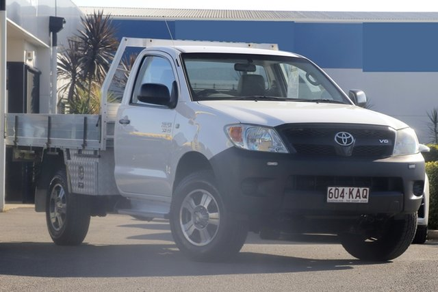 Used Toyota Hilux SR, Bowen Hills, 2005 Toyota Hilux SR Cab Chassis