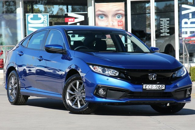 Discounted Demonstrator, Demo, Near New Honda Civic VTi-S, Narellan, 2019 Honda Civic VTi-S Sedan