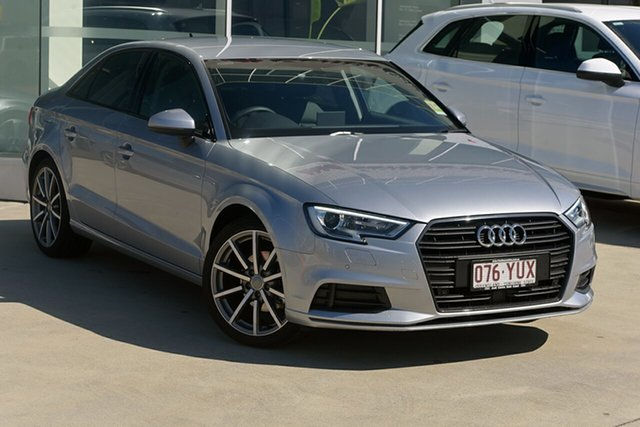 Demonstrator, Demo, Near New Audi A3 35 TFSI S Tronic, Warwick Farm, 2018 Audi A3 35 TFSI S Tronic Sedan