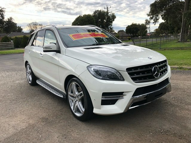 Used Mercedes-Benz ML500 7G-Tronic +, Cranbourne, 2013 Mercedes-Benz ML500 7G-Tronic + Wagon