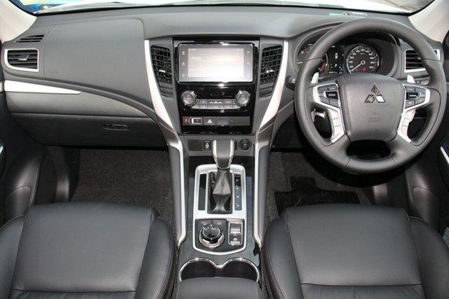 Demonstrator, Demo, Near New Mitsubishi Pajero Sport Black Edition, Toowong, 2019 Mitsubishi Pajero Sport Black Edition QE MY19 Wagon