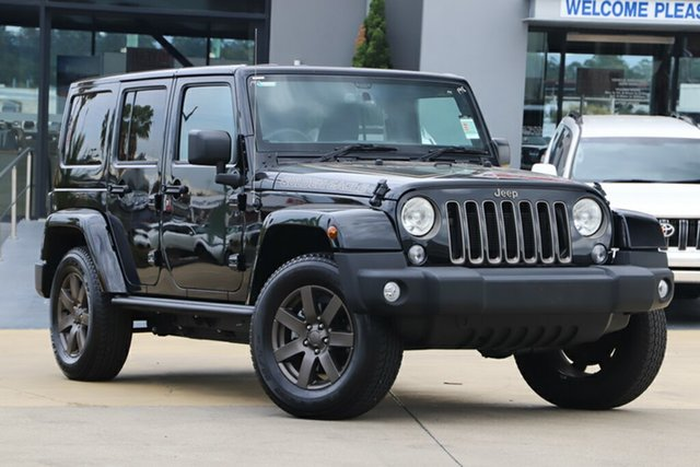 Used Jeep Wrangler Golden Eagle, Indooroopilly, 2018 Jeep Wrangler Golden Eagle Softtop