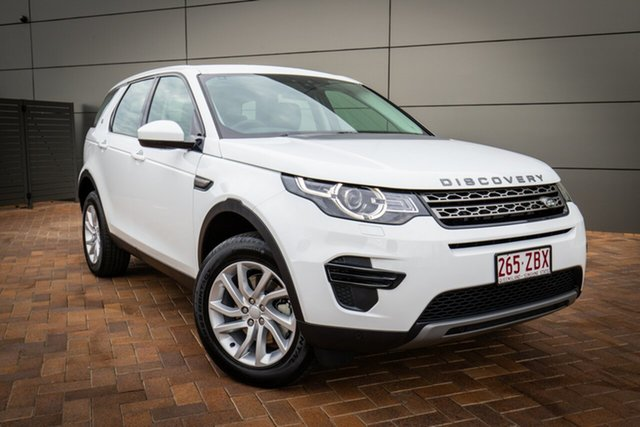 Demonstrator, Demo, Near New Land Rover Discovery Sport TD4 132kW SE, Toowoomba, 2019 Land Rover Discovery Sport TD4 132kW SE Wagon