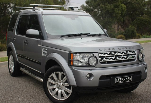 Used Land Rover Discovery 4 SDV6 CommandShift HSE, Officer, 2012 Land Rover Discovery 4 SDV6 CommandShift HSE Wagon