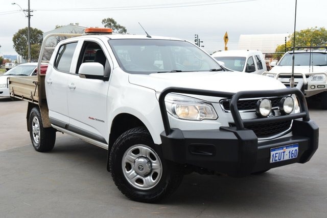 Used Holden Colorado LS (4x4), Kewdale, 2015 Holden Colorado LS (4x4) Crew C/Chas