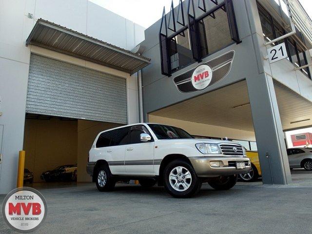 Used Toyota Landcruiser Sahara (4x4), Eagle Farm, 2003 Toyota Landcruiser Sahara (4x4) Wagon