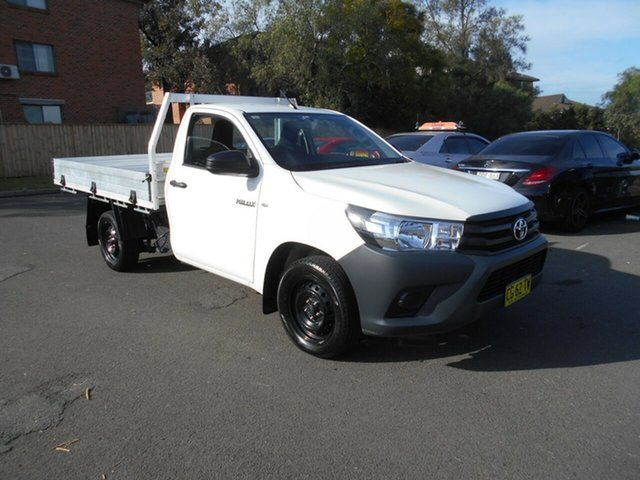 Used Toyota Hilux Workmate, Bankstown, 2015 Toyota Hilux Workmate Cab Chassis