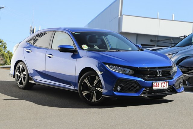 Demonstrator, Demo, Near New Honda Civic RS, Indooroopilly, 2019 Honda Civic RS Hatchback