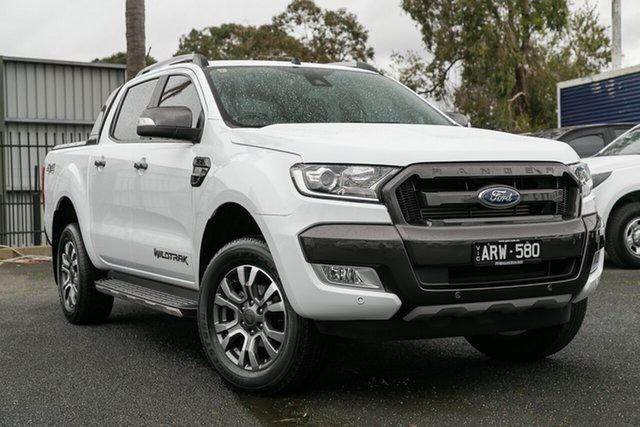 Used Ford Ranger Wildtrak Double Cab, Oakleigh, 2017 Ford Ranger Wildtrak Double Cab PX MkII Utility