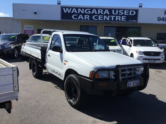 Used Ford Courier GL (4x4), Wangara, 2001 Ford Courier GL (4x4) Cab Chassis