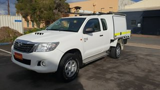 2013 Toyota Hilux SR (4x4) X Cab Cab Chassis.