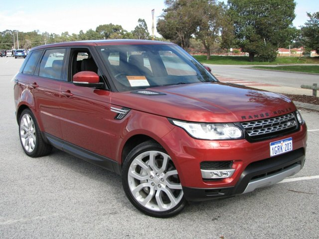 Used Land Rover Range Rover Sport SDV6 CommandShift HSE, Maddington, 2014 Land Rover Range Rover Sport SDV6 CommandShift HSE Wagon