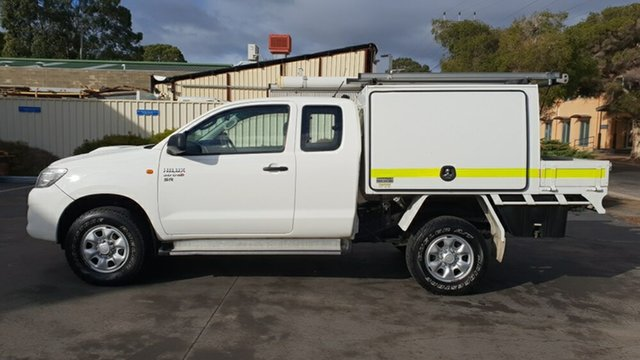 Used Toyota Hilux SR (4x4), Melrose Park, 2013 Toyota Hilux SR (4x4) X Cab Cab Chassis