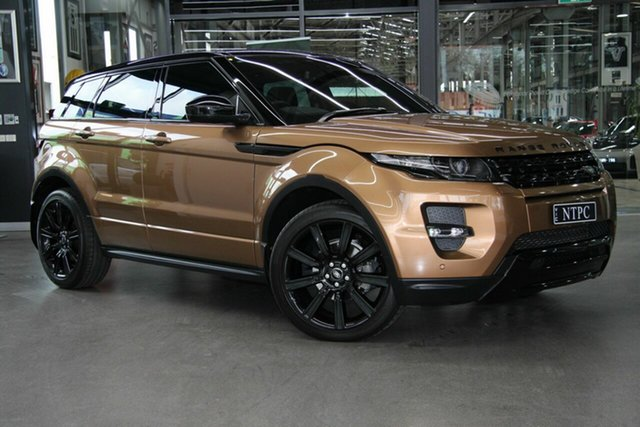 Used Land Rover Range Rover Evoque TD4 Dynamic, North Melbourne, 2014 Land Rover Range Rover Evoque TD4 Dynamic Wagon