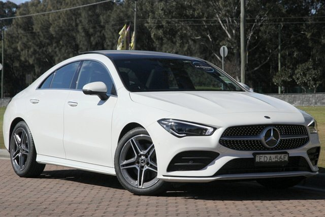 Demonstrator, Demo, Near New Mercedes-Benz CLA-Class CLA200 D-CT, Warwick Farm, 2019 Mercedes-Benz CLA-Class CLA200 D-CT Coupe