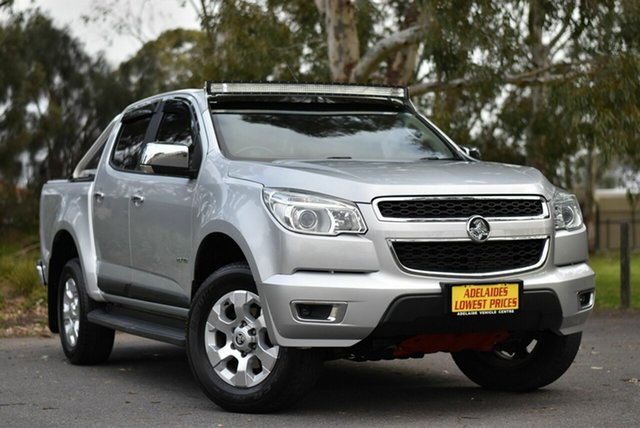 Used Holden Colorado LTZ Crew Cab 4x2, Enfield, 2013 Holden Colorado LTZ Crew Cab 4x2 Utility