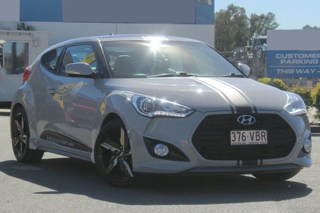 Used Hyundai Veloster SR Coupe Turbo, Bowen Hills, 2013 Hyundai Veloster SR Coupe Turbo Hatchback