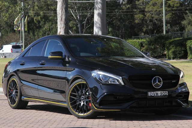 Used Mercedes-Benz CLA45 AMG SPEEDSHIFT DCT 4MATIC, Warwick Farm, 2018 Mercedes-Benz CLA45 AMG SPEEDSHIFT DCT 4MATIC Coupe
