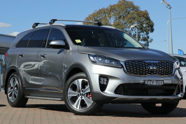 Discounted Demonstrator, Demo, Near New Kia Sorento GT-Line AWD, Narellan, 2018 Kia Sorento GT-Line AWD Wagon