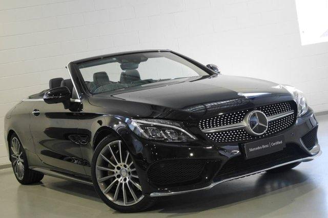 Used Mercedes-Benz C300 9G-Tronic, Warwick Farm, 2016 Mercedes-Benz C300 9G-Tronic Cabriolet
