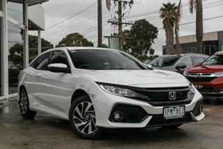 Demonstrator, Demo, Near New Honda Civic VTi-S, Oakleigh, 2019 Honda Civic VTi-S 10th Gen MY19 Hatchback