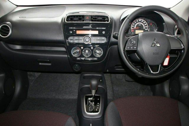 Demonstrator, Demo, Near New Mitsubishi Mirage Black Edition, Toowong, 2019 Mitsubishi Mirage Black Edition LA MY19 Hatchback